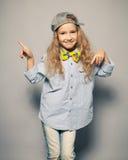 Motions fashion child Stock Photo