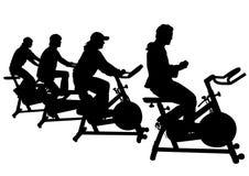 Motionscykel en Royaltyfria Foton