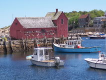 Motiv #1, Rockport, MA Stockbild