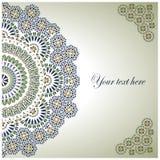 Motiv för ottoman för tappningbakgrund traditionella. Royaltyfria Foton