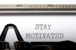 Motivação Foto de Stock Royalty Free