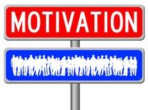 Motivação dos povos ilustração stock