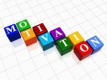 Motivação na cor 2 Fotos de Stock Royalty Free