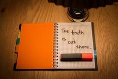 Motivación del cuaderno y de la escritura fotografía de archivo