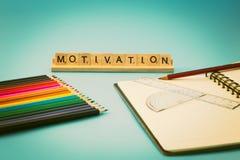 Motivación educativa Imagen de archivo