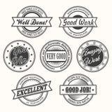 Motivate Badges Set Royalty Free Stock Photos