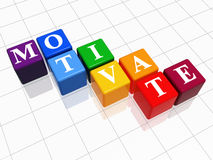 Motivate in colour 2 Royalty Free Stock Photo