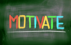 Motivate Concept Royalty Free Stock Images