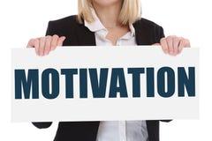 Motivatiestrategie het trainen opleidingssucces het succesvolle winnen Royalty-vrije Stock Foto's