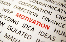 Motivation stock photography