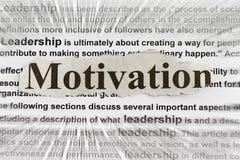 motivation royaltyfri bild