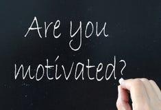 Motivation Stockfoto