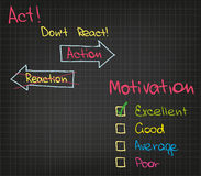 Motivation Action Royalty Free Stock Images
