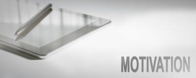 MOTIVATION Business Concept Digital Technology. Graphic Concept Stock Images