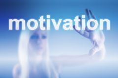 Motivation business concept Royalty Free Stock Photos