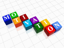 Motivation in colour 2 Royalty Free Stock Photos