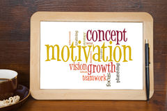 Motivation concept Royalty Free Stock Photos