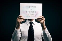 Motivation concept Stock Photo