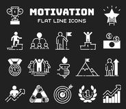 Motivation concept chart icon business strategy development design and management leadership teamwork growth career idea Stock Image