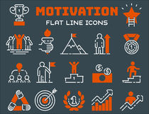 Motivation concept chart icon business strategy development design and management leadership teamwork growth career idea. Motivation concept chart icon business Stock Photography