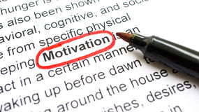 Motivation Concept Stock Image