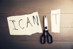 Motivation, Confidence Concept Stock Photography