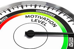 Motivation level concept Royalty Free Stock Photography