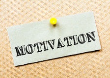 Motivation Message Royalty Free Stock Photo