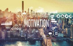 Motivation with New York City royalty free stock photos