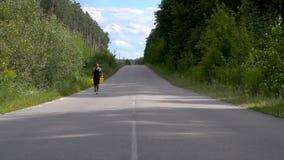 Motivation och framgång i en utmaning med fysisk aktivitet lager videofilmer