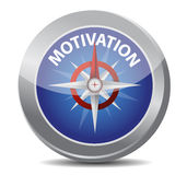 Motivation red word indicated Royalty Free Stock Photos