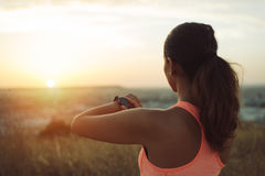 Motivation and running workout concept Stock Images