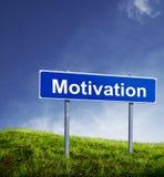Motivation sign Stock Photos