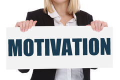Motivation strategy coaching training success successful winning Royalty Free Stock Photos
