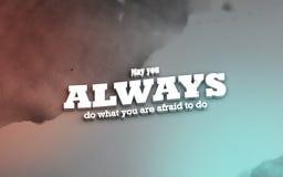Motivational affisch 3D Stock Illustrationer