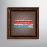 Motivational Background Royalty Free Stock Image