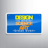 Motivational Background Royalty Free Stock Photo