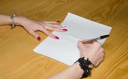 Motivational concept with handwritten text hello Stock Photos