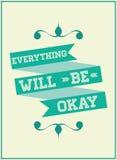 Motivational phrase Stock Image
