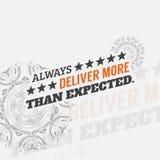 Motivational poster Stock Photos
