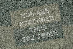 Motivational quotes you are stronger than you think