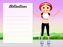 Motivations Royalty Free Stock Photography