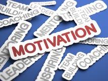 Motivations-Konzept. Stockfotografie