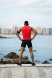 Motivazione corrente di allenamento e concetto urbano di sport Fotografia Stock Libera da Diritti