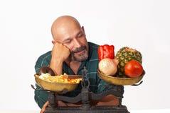 Motivazione di dieta Immagine Stock