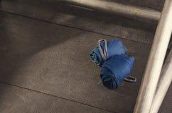 Motivazione di forma fisica fasciature Allenamento per il migliori corpo e healt Fotografia Stock