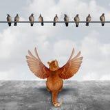Motivazione ed immaginazione Fotografia Stock Libera da Diritti