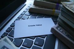 Motivazione per i nuovi imprenditori Fotografie Stock Libere da Diritti