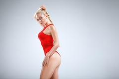 Motivazione perfetta di forma fisica Fotografie Stock
