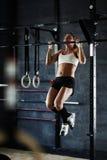 Motivazione trasversale di forma fisica Fotografia Stock